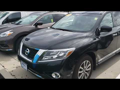 Pat, here's a p of the 2015 Pathfinder!