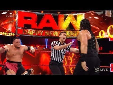 Roman Reigns Vs Samoa Joe Intercontinental full match thumbnail