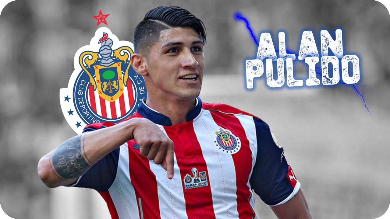 Alan Pulido Todos Sus Goles Con Chivas 2016 17 Youtube