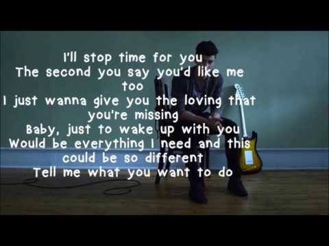 Treat You Better- Shawn Mendez Lyrics HD