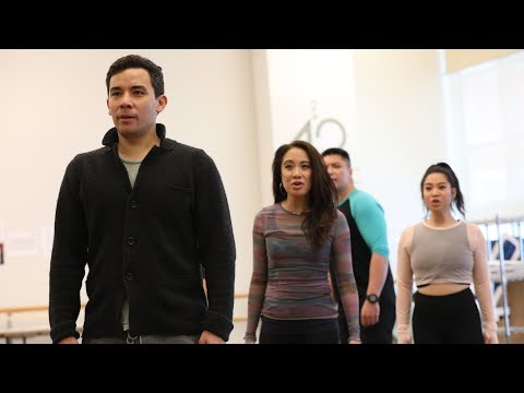"Go Inside Rehearsals for ""Soft Power"" 