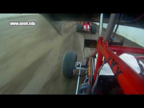 Jac Haudenschild in-car camera at Limaland