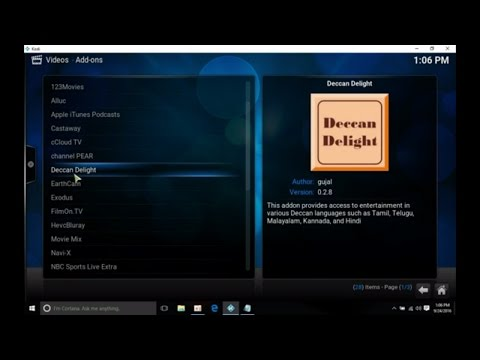 Deccan Delight Addon - How to install in Kodi to watch free Indian Movies (Easy Method)