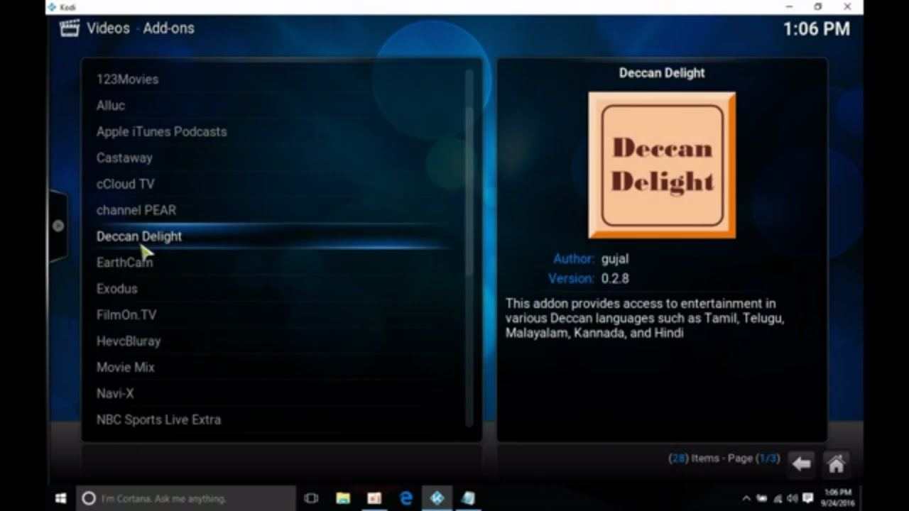 Deccan Delight Addon - How to install in Kodi to watch free
