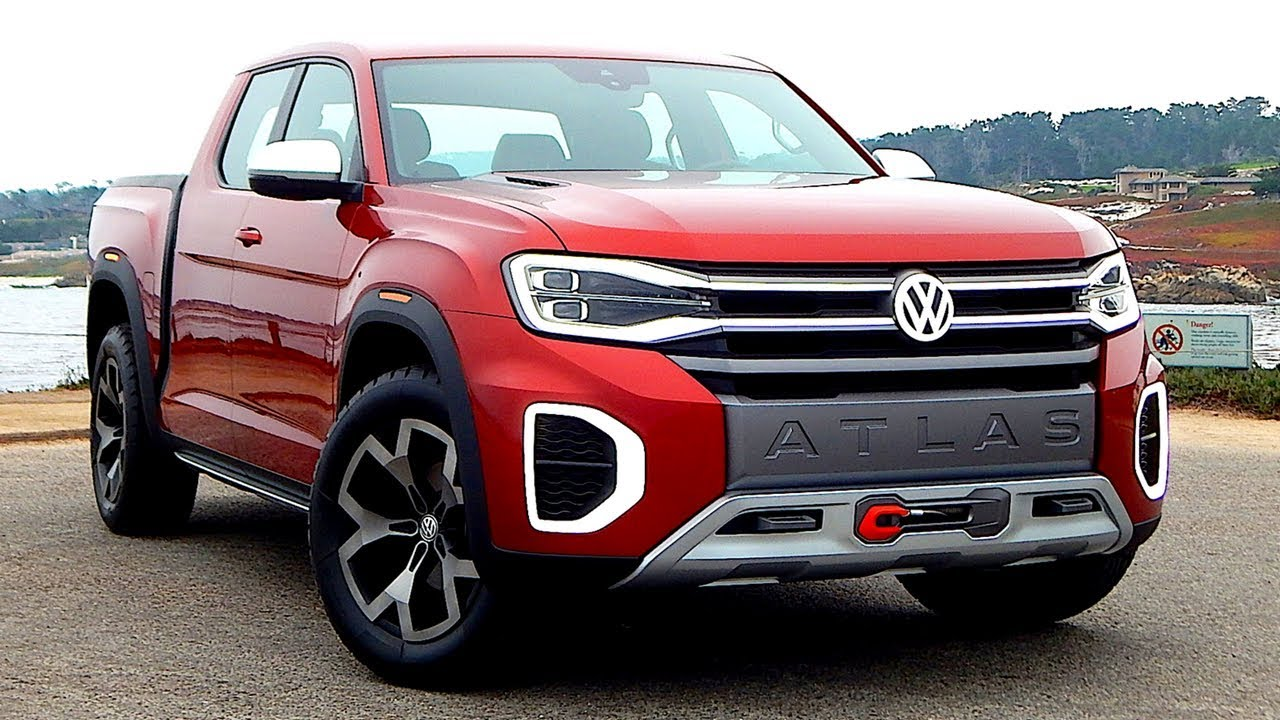 New Volkswagen Atlas Tanoak In Details Premium Pickup Truck Concept Youtube