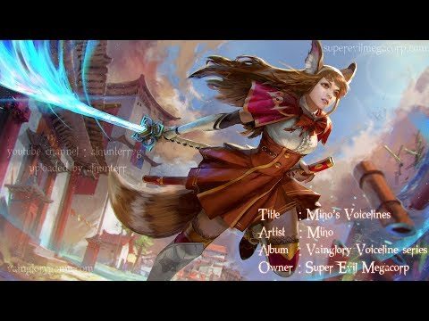 Vainglory Voice Line Series: Miho - YouTube
