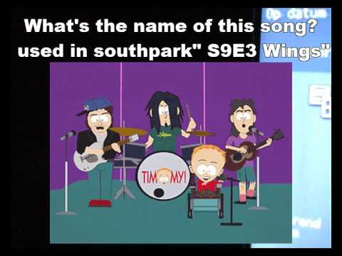southpark who knows the name of this song? iron maiden metallica acdc