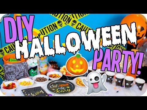 DIY Halloween Party! Decor, Hacks, Food & More!