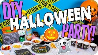 DIY Halloween Party! Decor, Hacks, Food & More!