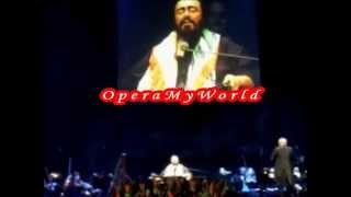 pavarotti sings e lucevan le stelle in 2005 farewell tour rare video