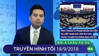 Tin tức | Tình trạng Việt Nam vi phạm nhân quyền gây rủi ro cho thỏa thuận thương mại với EU