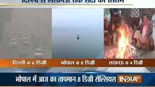 Cold Wave Grips Delhi, Minimum Temperature Nears 6 Degree Celsius