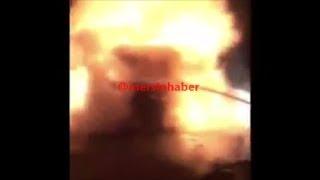 Mersin'de TIR Yangını, TEM otoyolu Tarsus-Pozantı Bölümü Damlama'da TIR Yandı