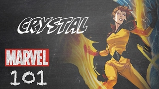 Controls the Elements – Crystal – Marvel 101