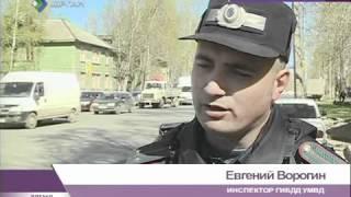 Авария в центре Сыктывкара
