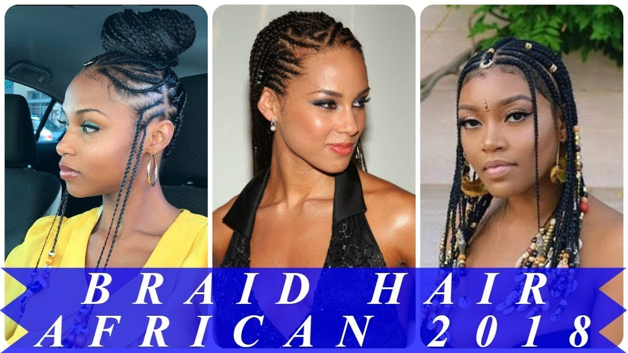 African American 2018 Braid Hairstyles Pictures Youtube