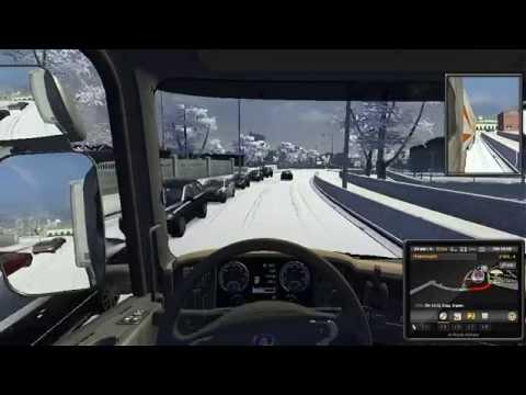 мод на зиму в Euro Truck Simulator 2 скачать - фото 8