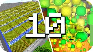 TOP 10 GRANJAS DE XP AUTOMÁTICAS - MINECRAFT thumbnail