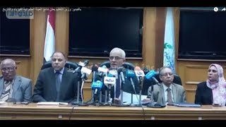 بالفيديو: وزير التعليم يعلن نتائج العينة العشوائية للفيزياء والتاريخ