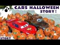 Disney Cars Toys Halloween Game Toy Story with McQueen and Mater - Cars for Kids spooky fun TT4U