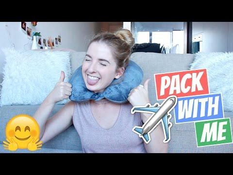 Pack With Me For America | My Carry On Travel Essentials