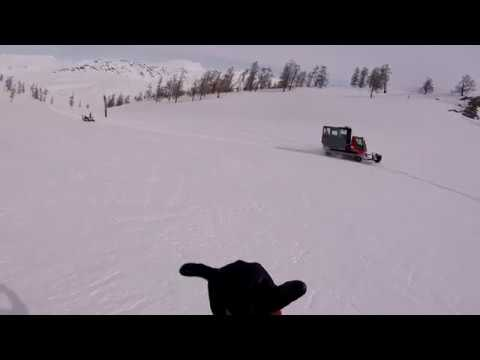 Ski China - Aletai Sled Sking Run 1