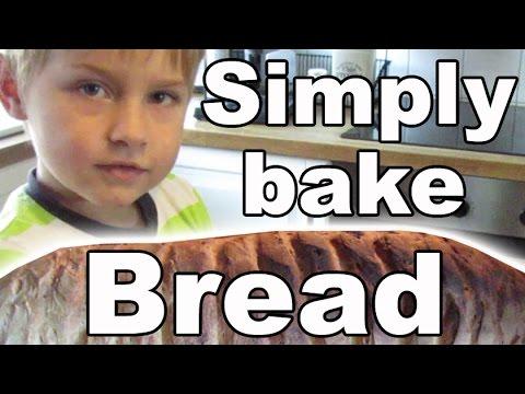 Kinderleicht  Brot backen mit Ash (5 Jahre alt) Brot selber machen DIY-Kanal für Kinder-Kinderkanal
