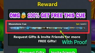 8 Ball Pool Free Reward Get Free { Moonstone Cue } Genuine Offer Biggest Offer in a History 😎