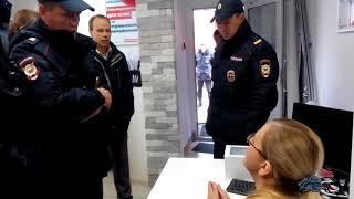 Арест координатора штаба Навального в Перми (09.10.17)