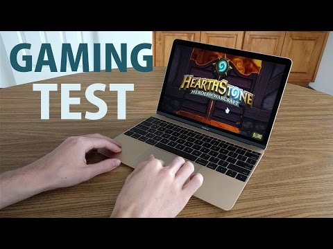 Apple Macbook 12 Inch Gaming Performance Test Youtube