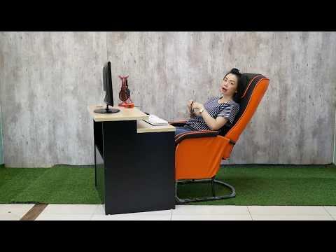 เก้าอี้คอม ปรับเอน แบบร้านเกมส์ BLG411 By B2gear.com