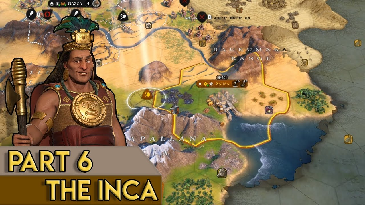 I JUST REALLY WANT IRON - Civilization 6: Gathering Storm Inca Gameplay -  Part 6