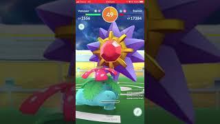 Pokémon Go - Level 3 Raid - Starmie
