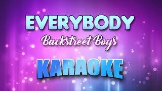 Backstreet Boys - Everybody (Karaoke version with Lyrics)