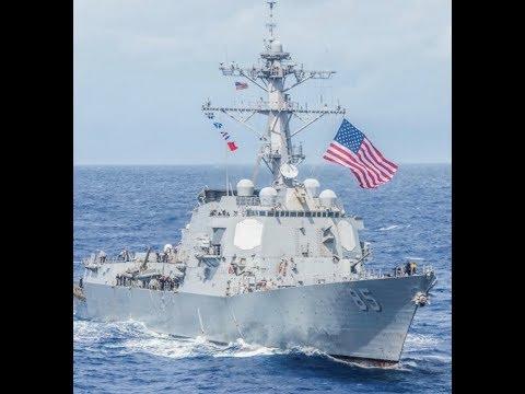 """Breaking: """"USA Warship Sails Near Taiwan"""" / China Threatens"""