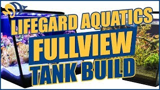 Full View Aquariums: We Built a Nano Reef and a Planted Tank — YOU CAN WIN BOTH!