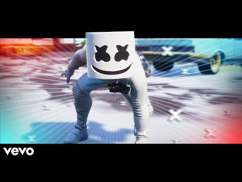 Marshmello - Alone  (Official Fortnite Music Video)