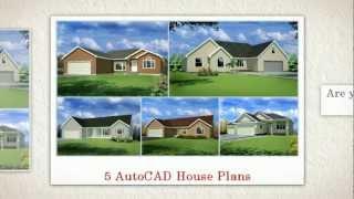 House Plans:  $20 Autocad House Plans