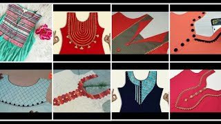 Download Neck designs #newneckDesigns# galy k design/ neck designs with piping, laces and buttons for shirts.