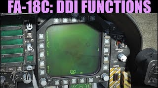 FA-18C Hornet: (out of date) Overview Of DDI Pages | DCS WORLD