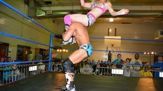 Download Candice LeRae VS.  Johnny Gargano -Absolute Intense Wrestling [Intergender Wrestling] Mp3 and Videos