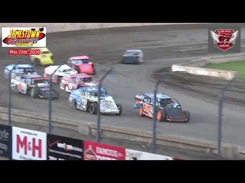 Jamestown Speedway WISSOTA MW Modified B-Mains (5/25/19)