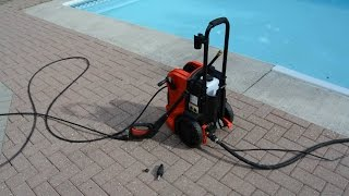 Snap-on-tools 2000 psi pressure washer review