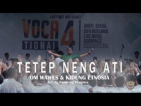 TETEP NENG ATI - GASENG (OM WAWES) & KIDUNG ETNOSIA // Live In Concert SMKN 2 WONOSARI
