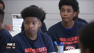 Greg Kelser Basketball Camp helps student-athletes on and off the court