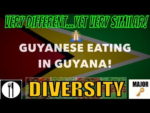 FULL DAY OF GUYANESE EATING|IN GUYANA!!