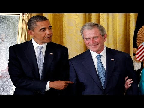 Bush Thinks Obama Makes U.S. Unsafe