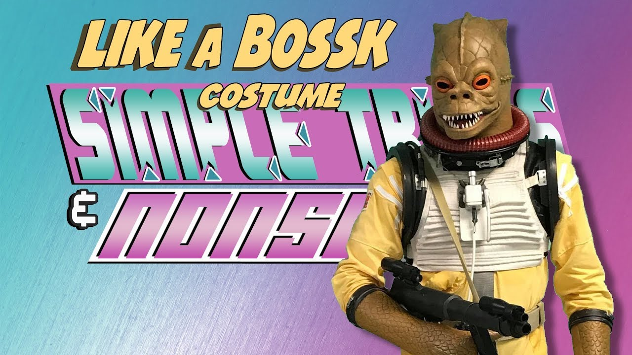 Like A Bossk Costume Simple Tricks Nonsense