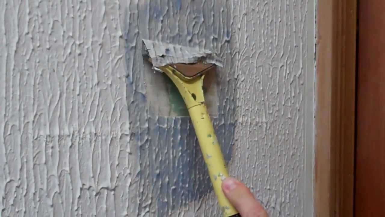 Removing artex using x tex youtube for What do you use to remove wallpaper
