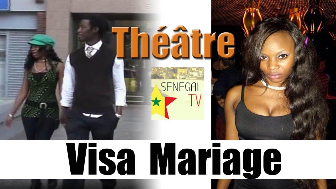 Bien connu Visa Mariage - un film de Lamine Mbengue (Théâtre Sénégalais  LO28